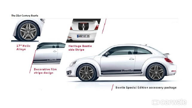 Volkswagen introduces Beetle special edition in India